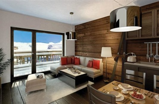 Resort carousel residence l ours blanc   apartment