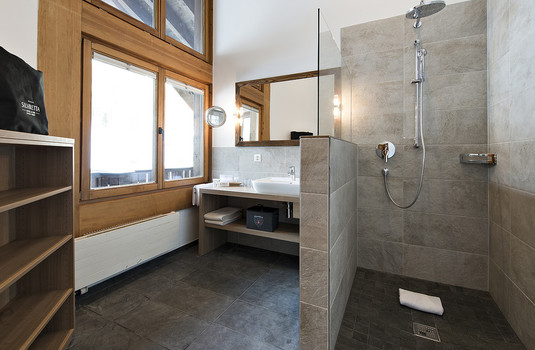 Silvretta Hotel and Spa - Penthouse Bathroom