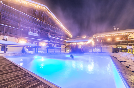 Resort carousel les loges blanches hotel   pool 3