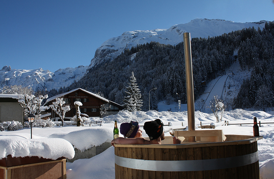 Resort carousel ski lodge engelberg   hottub