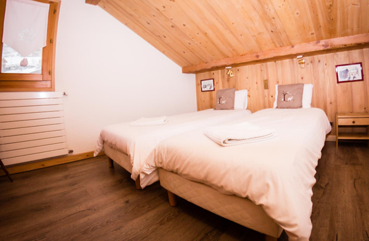 Chalet Grand Belvedere - Bedroom