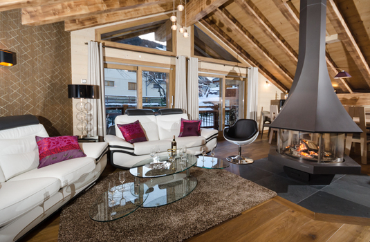 Chalet Emilie - Living Room 2