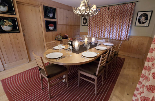 Les Griottes - dining room