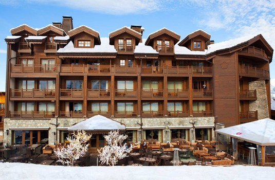 Resort carousel hotel portetta courchevel exterior