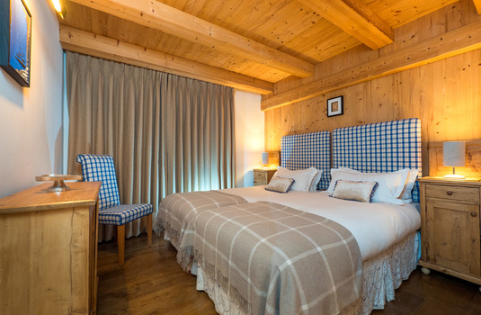 Chalet Klosters - twin room