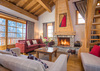Chalet Klosters - living room