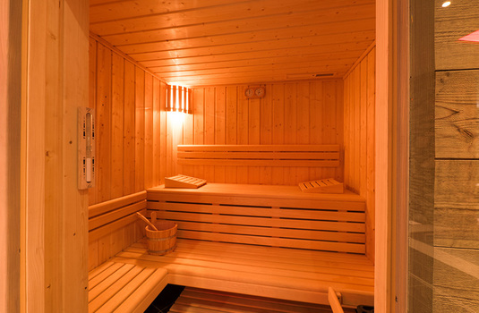 Resort carousel club bellevarde   sauna