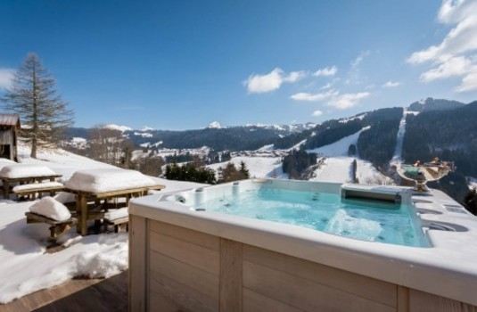 Resort carousel ferme de la corderie   hot tub