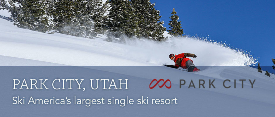 Park City home page banner