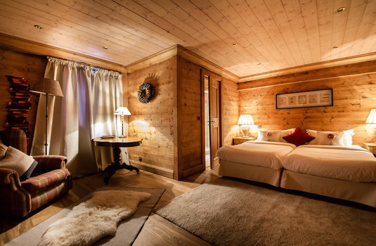Resort carousel chalet hermine courchevel bedroom 2