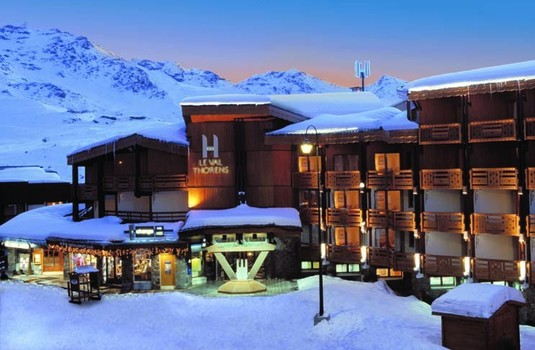 Resort carousel hotel le val thorens  exterior 3