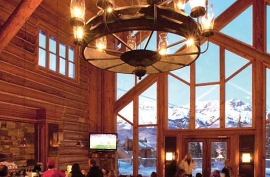 Resort carousel mountain lodge bar