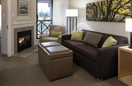 Resort carousel delta whistler sofa area