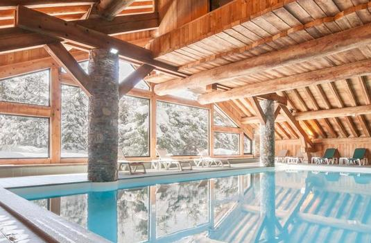 Resort carousel chalet lupin pool