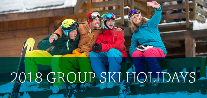 2018 group ski holidays