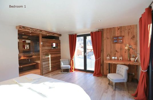 Resort carousel chalet d isere bedroom 2