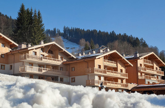 Resort carousel chalets jouvence exterior