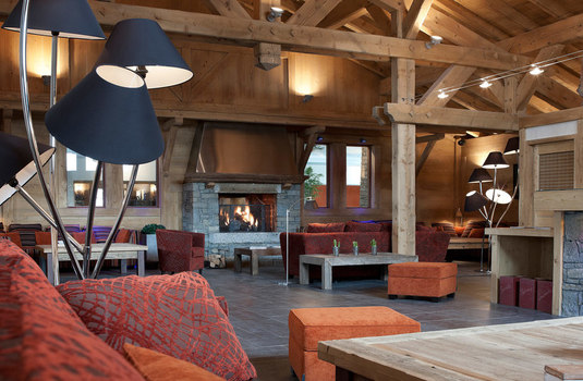 Resort carousel chalets jouvence lobby