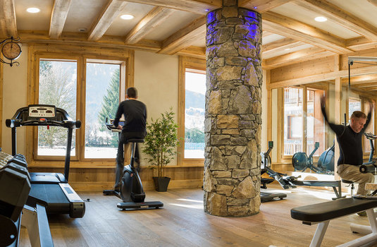 Resort carousel chalets layssia gym