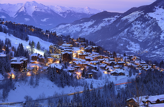 Courchevel-dusk