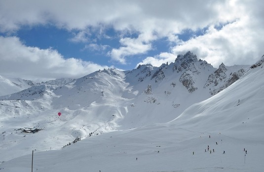 Courchevel-snow