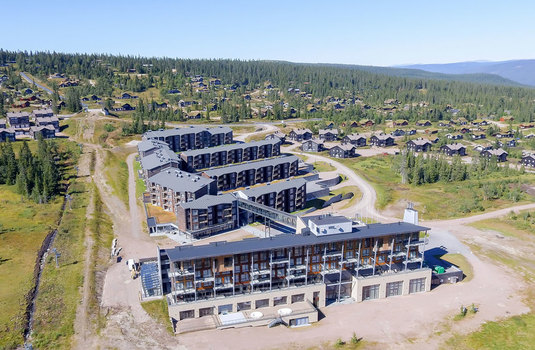 Resort carousel blu mountain resort trysil exterior2