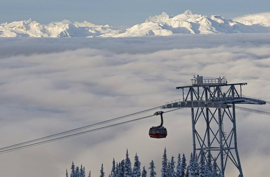 Whistler Peak 2 Peak Gondola (Photo © Paul Morrison)