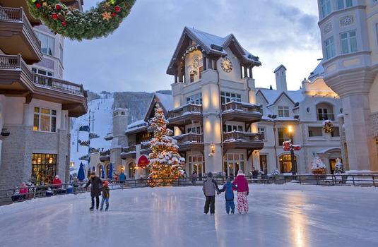 Vail Village Ice Rink (Photo © Jack Affleck)