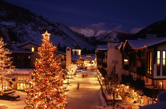 Vail Village Night (Photo © Jack Affleck)