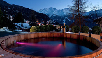 Chalets with hot tubs