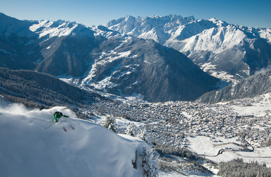 Verbier Skier (Photo © Verbier)