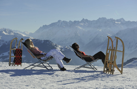 Verbier Sunbathing (Photo © Verbier)