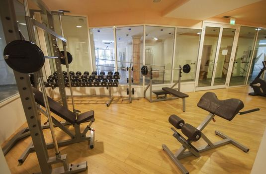 Resort carousel golf hotel folgaria gym