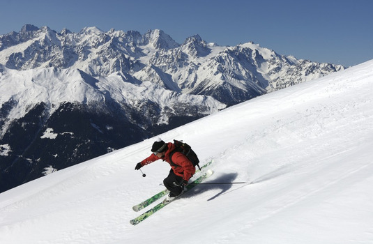 Verbier Skier Piste (Photo © Verbier)
