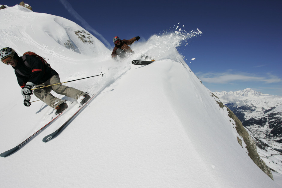 Tignes Skiers