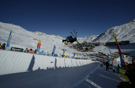 Tignes X Games Half Pipe