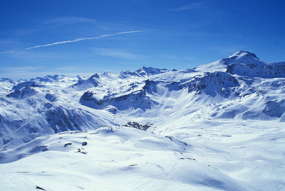 Tignes Mountains