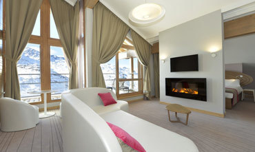 Club Med Val Thorens bedroom