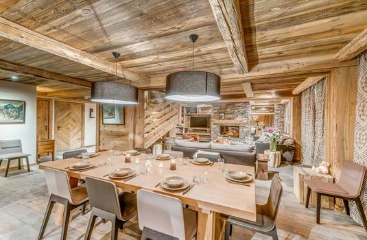 Les Sorbiers_Val d'Isere_Dining Room