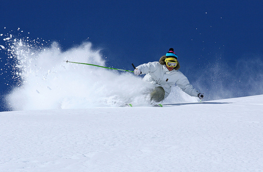 Val Thorens Powder Skier