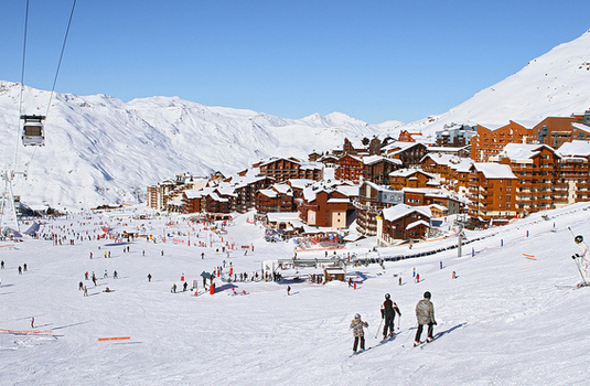 Val Thorens Village Slope