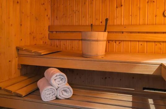Resort carousel pierra menta 2 update sauna