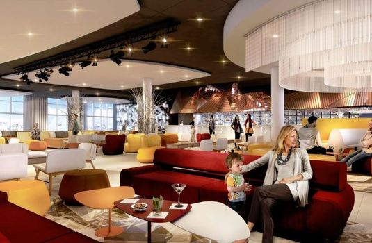 Resort carousel club med les arcs welcome lounge ed