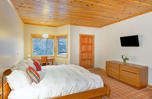 Resort carousel ice house lodge bedroom