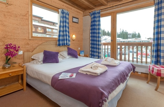 Resort carousel chalet schatzi double bed
