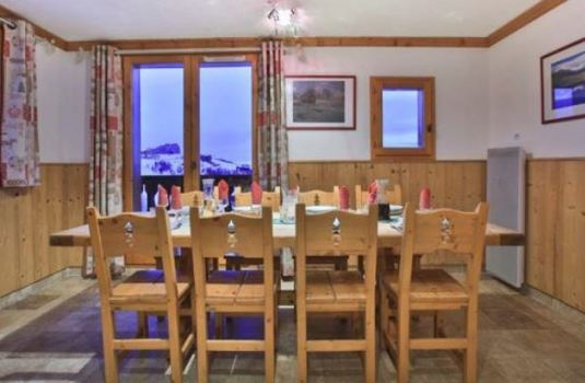 Resort carousel chalet charmant update dining room