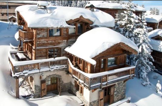 Resort carousel chalet montana exterior courchevel