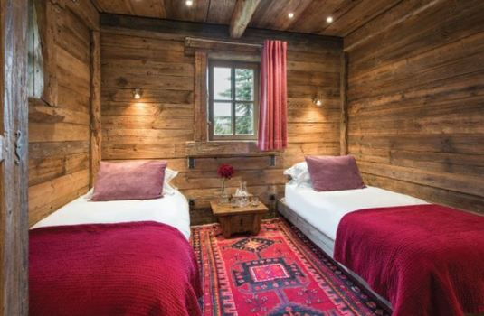 Resort carousel courchevel 1850 family chalet twin room