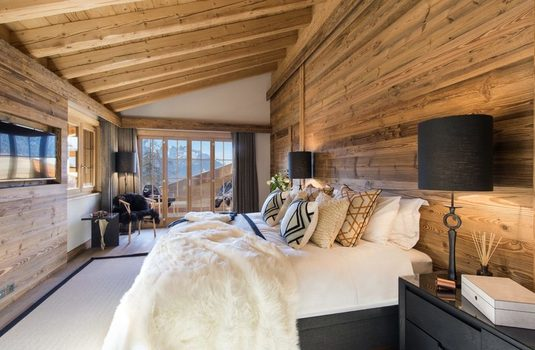 Resort carousel verbier ski chalet luxury bedroom
