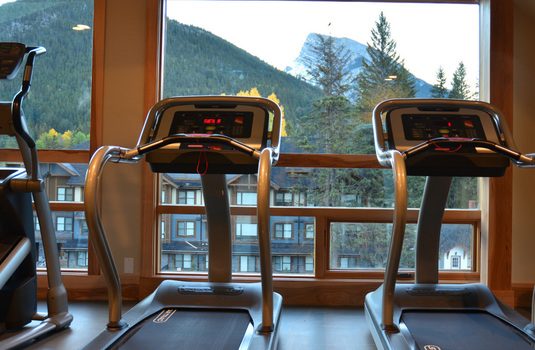Resort carousel moose hotel suites gym